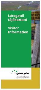 LAFARGE látogatói tájékoztató