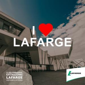 Elindult a LAFARGE Cement Magyarország Facebook oldala!