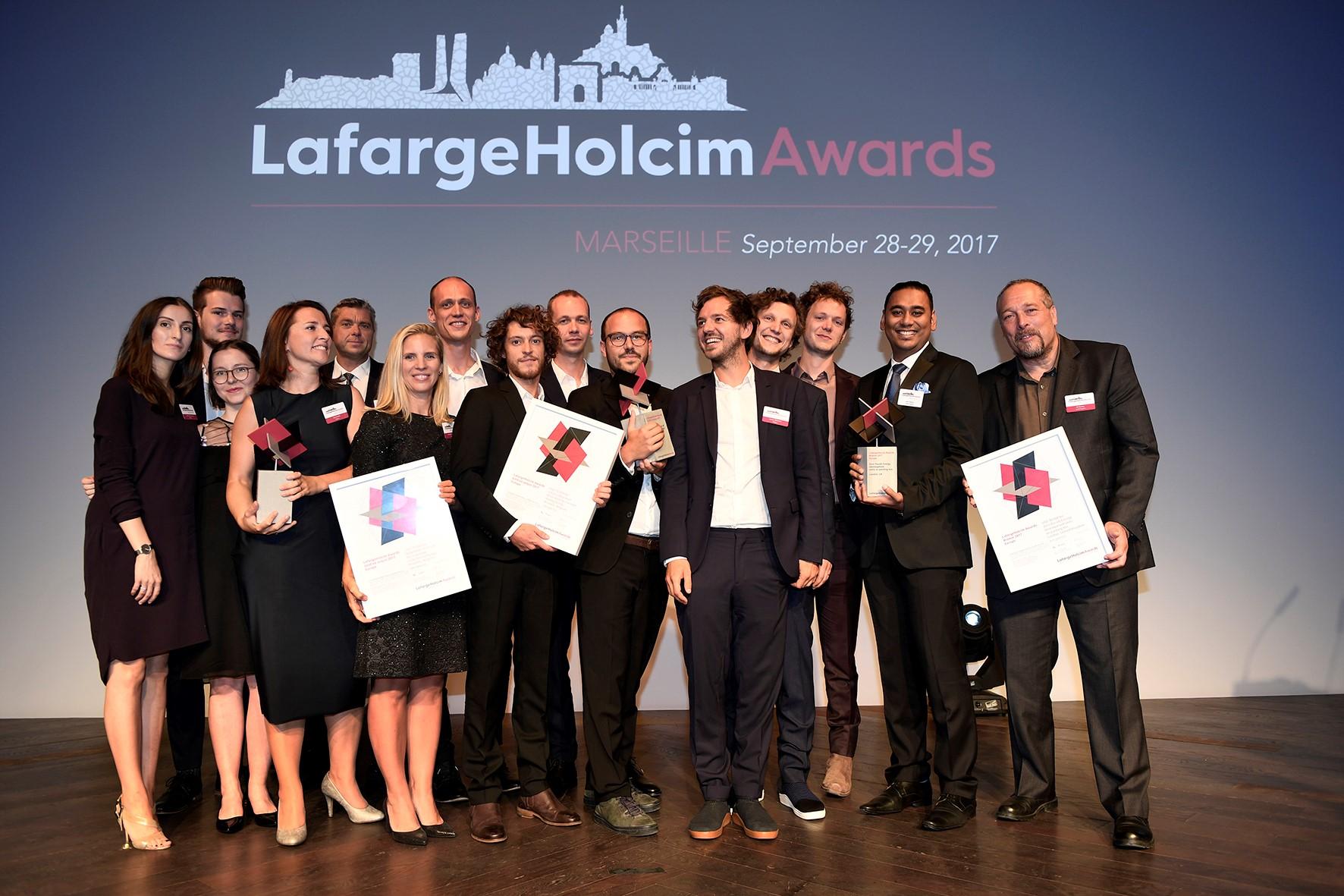 Az Európai LafargeHolcim-díj nyertesei, 2017