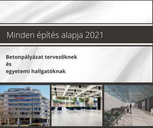 Minden építés alapja 2021