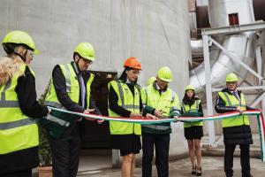 Elkészült a Királyegyházi Cementgyár környezetvédelmi nagyberuházása