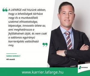Inspiráló karrierutak a LAFARGE-nál