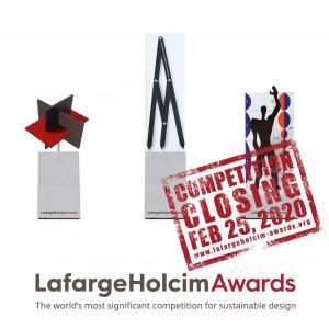 Végső felhívás: jelentkezz a 2 millió dollár összdíjazású LafargeHolcim Awards pályázatra
