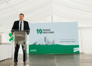 Fennállásának 10. évfordulóját ünnepli a LAFARGE